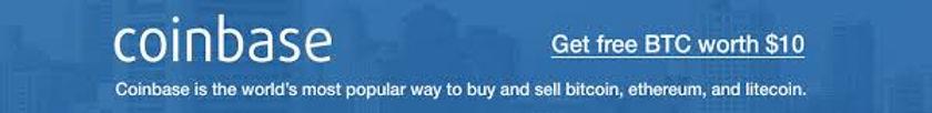 Coinbase Banner Ad