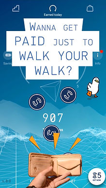 Sweatcoin Promotional Ad Paid To Walk