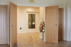 Home lift subtly installed in house