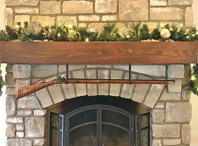 Fireplace Rifle Hangers verdictbrackets.com