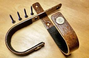 45 Long Colt Rustic Rifle Hangers by VERDICT BRACKETS