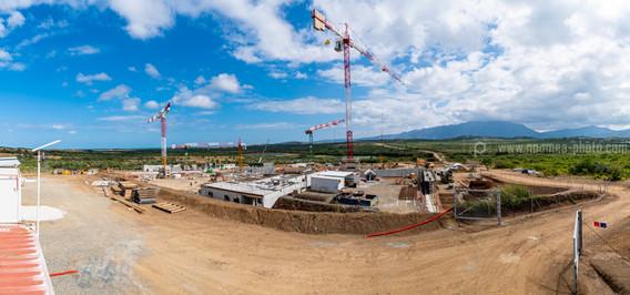 Suivi de chantier, Centre de Détention de Koné, Nouvelle-Calédonie