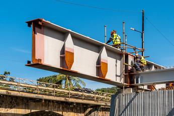 Suivi de Chantier, pont de la Dumbéa, Nouvelle-Calédonie