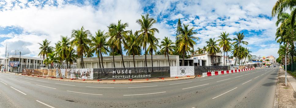 Suivi de chantier du Musée de Nouvelle-Calédonie, Nouméa