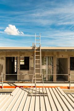 Suivi de chantier, construction, résidence universitaire, Dumbea