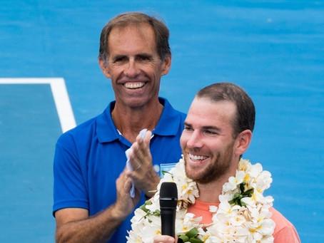 Tennis : Adrian Mannarino (FRA), vainqueur des Internationaux BNP Paribas de Nouvelle-Calédonie 2017