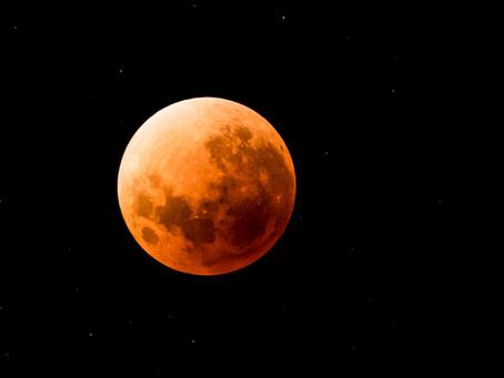 Eclipse de lune de la nuit du mercredi 31 janvier à jeudi 1er février 2018, Nouméa.