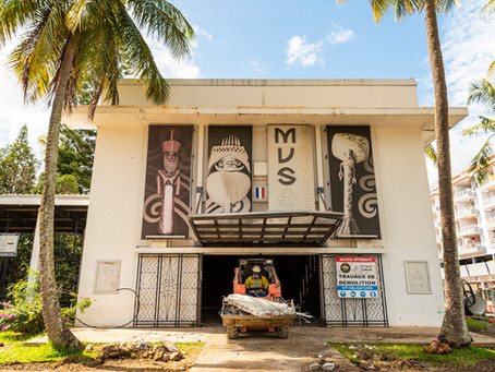 Suivi de chantier du Musée de Nouvelle-Calédonie : extension et rénovation