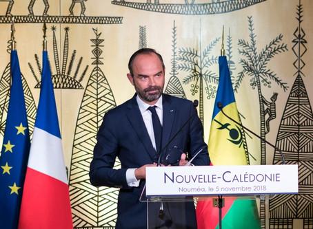 Visite du Premier ministre à Nouméa, le 5 novembre 2018