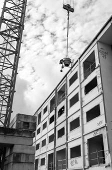 Suivi de chantier, rénovation, residence de Tindu A, Noumea