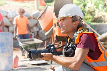 suivi de chantier industrie noumea photographe