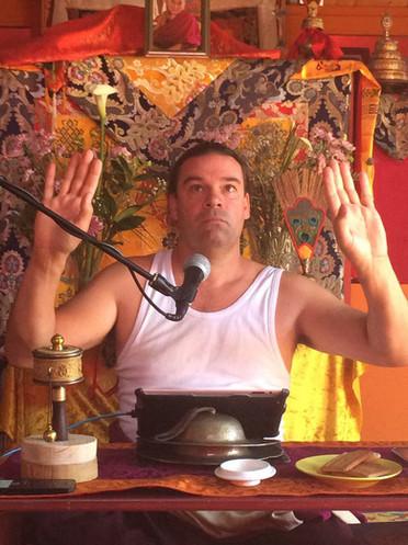 Rinchen Dorje teaching