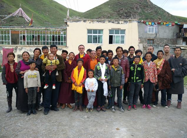I sponsed Awam school in Yushu Chengduo