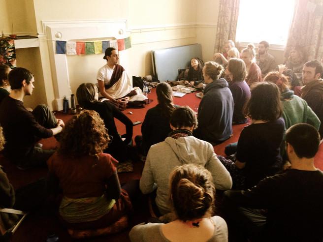 Sangye Dorje in Brighton