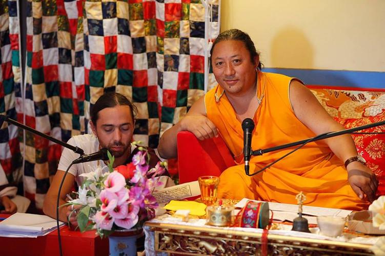 Namkha Rinpoche & Sangye Dorje