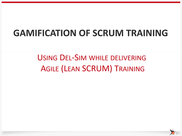Del-Sim For Agile (Lean Scrum)