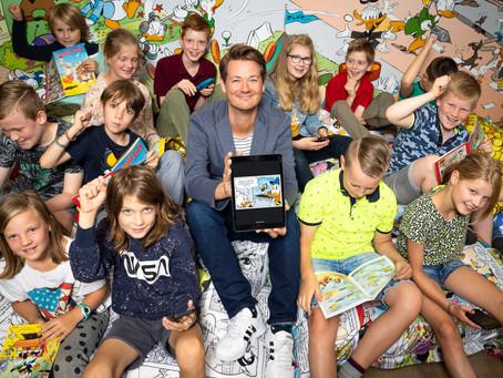Donald Duck lanceert app in samenwerking met 500 jonge DuckDenkers