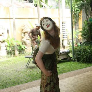 Balinese Mask Work
