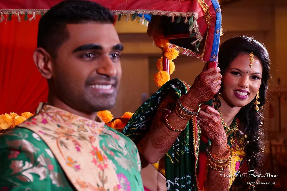 wedding garba dance performance
