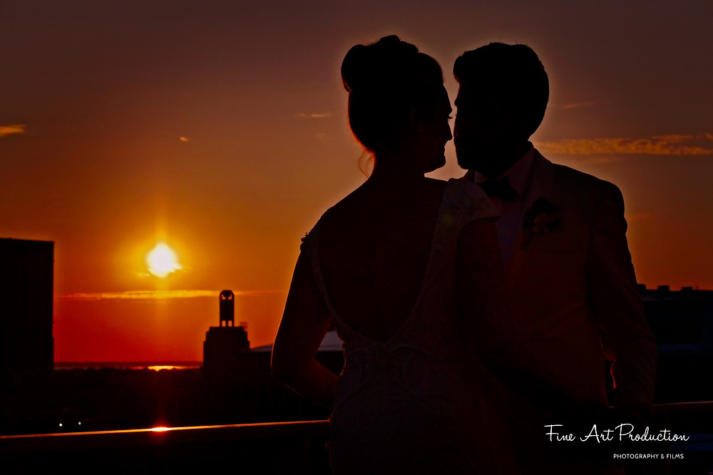 sunset-wedding-portrait-Atlantic-city-fine-art-production
