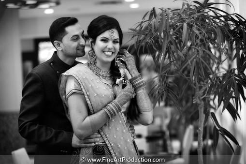 Indian Wedding Garba Dandiya Portrait