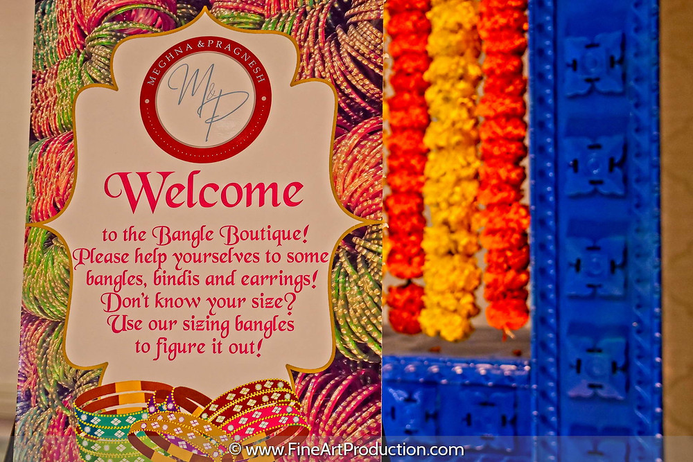 Garba Invitation - Indian Wedding at Albany Marriott