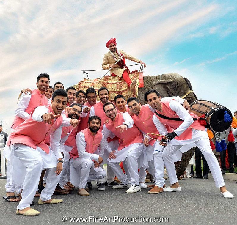 baps-robbinsville-indian-wedding-baarat.