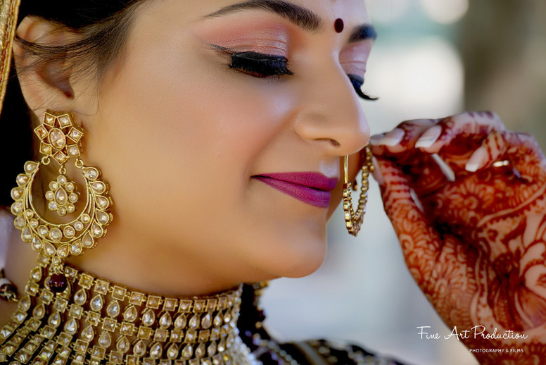 bridal indian wedding jewelry