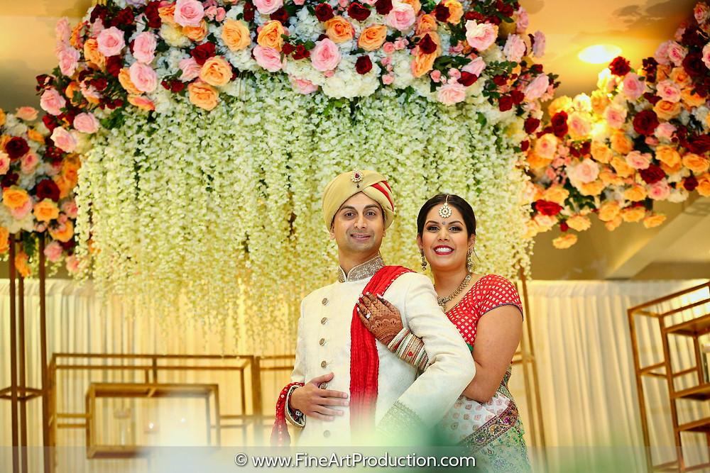 Beautiful Wedding Portrait of Meghna & Pragnesh