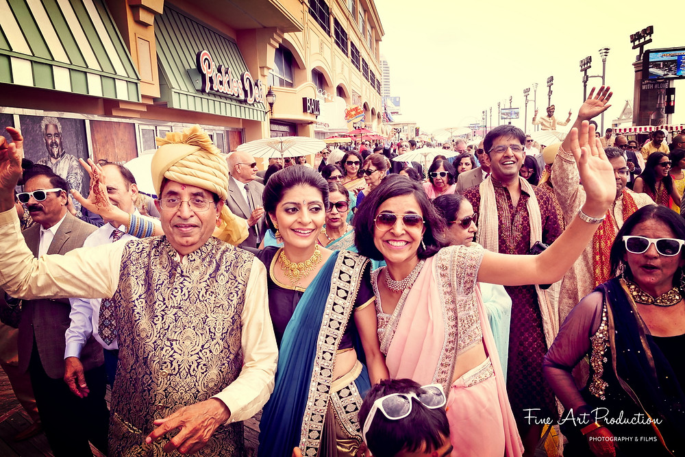 indian-wedding-baarat-atlantic-city-board-walk