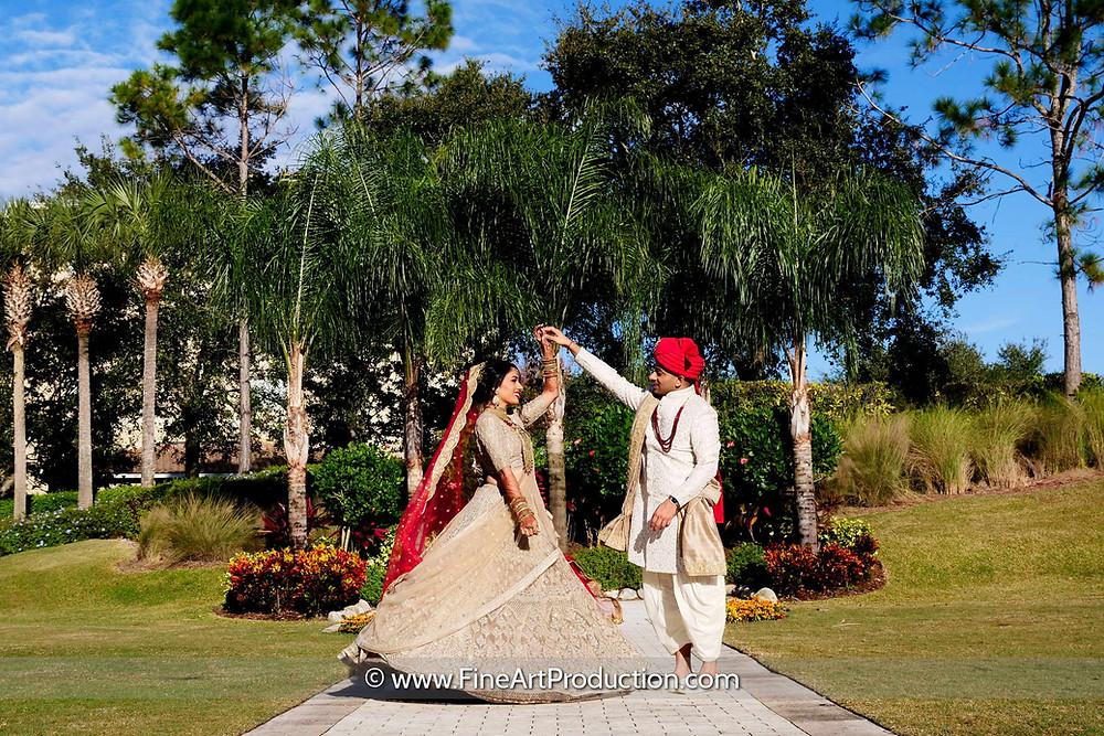 Omni Championsgate Indian Wedding - Ronisha & Vishal