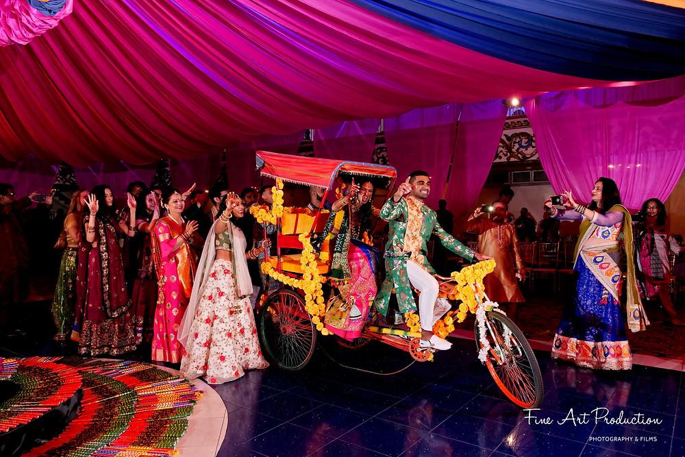 wedding garba dance