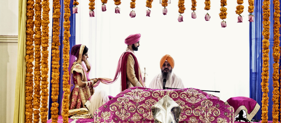 Sikh Wedding Traditions & Sikh Wedding Photography