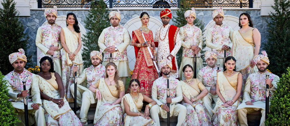 THE LEGACY CASTLE - POMPTON PLAINS - LUXURY INDIAN WEDDING VENUE - NEW JERSEY - JILL & SAPAN