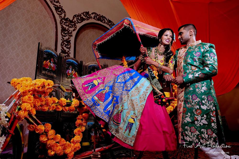 albert palace indian wedding garba