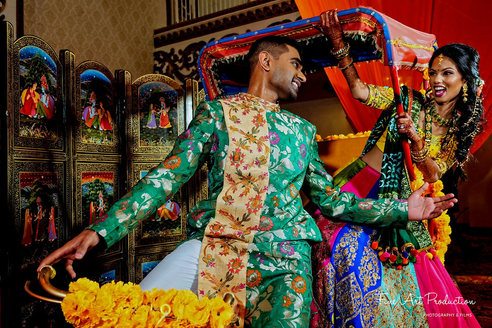 indian wedding garba