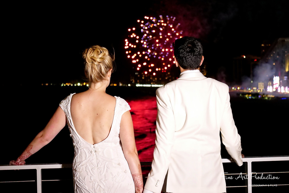 atalntic-city-fire-works-wedding-reception