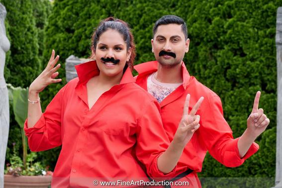 Indian Couple Portrait Session