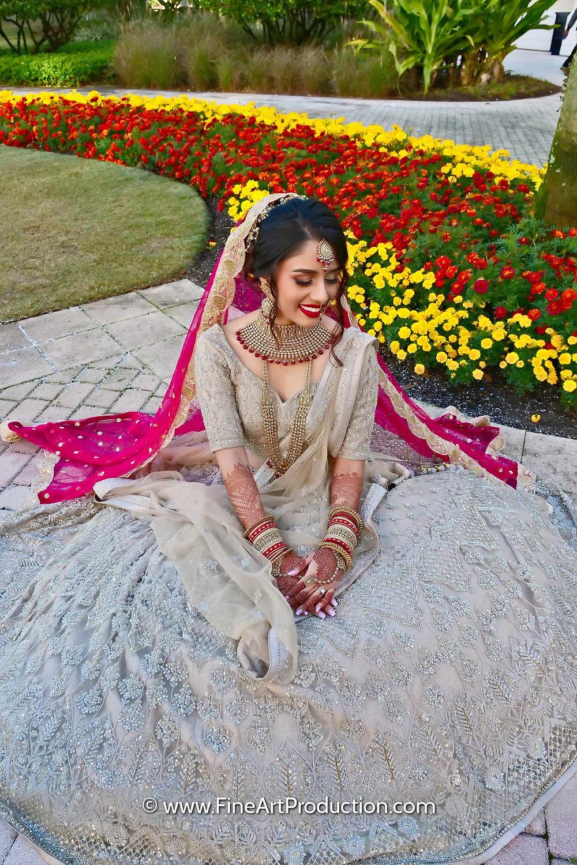 Indian Bridal Portrait Photography - Fine Art Production