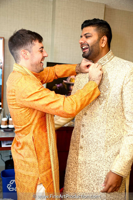 south-indian-groom-getting-ready