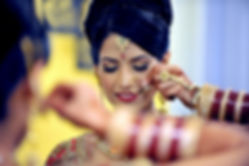 punjabi-bride-getting-ready