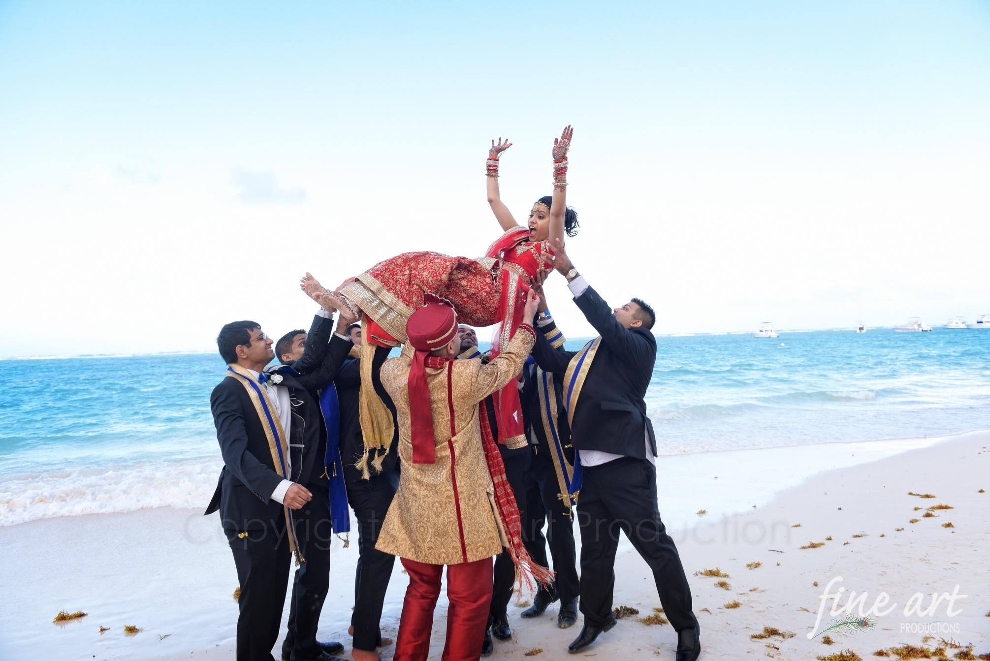 punta cana indian wedding