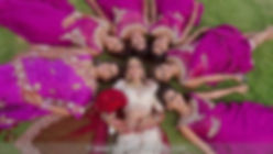 cancun-indian-wedding-bridal-party-photo