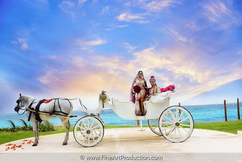 Plan your destination indian wedding with fine art production