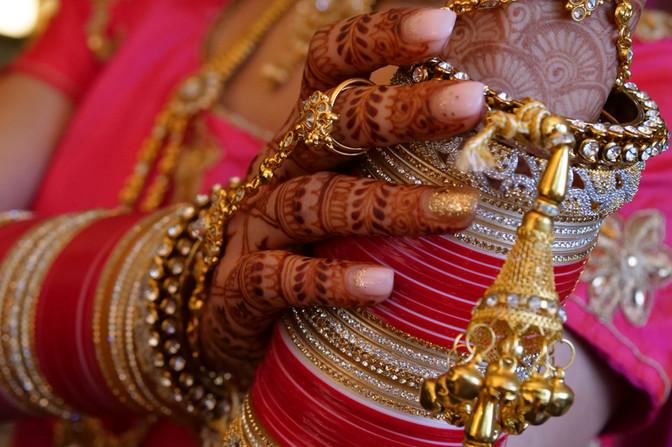bridal indian wedding jewelry chura