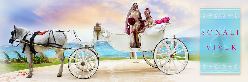 Hyatt Ziva Cancun | Indian Wedding - Sonali & Vivek by Fine Art Production