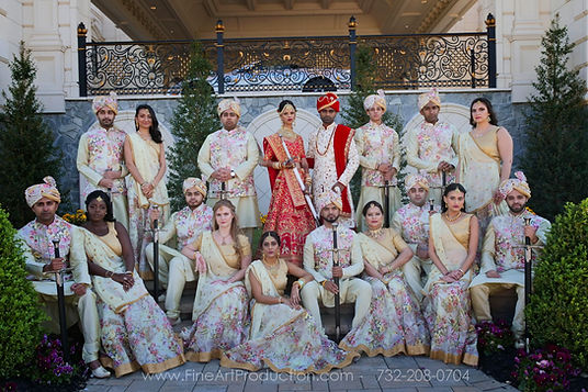 indian-wedding-bridal=party-pictures