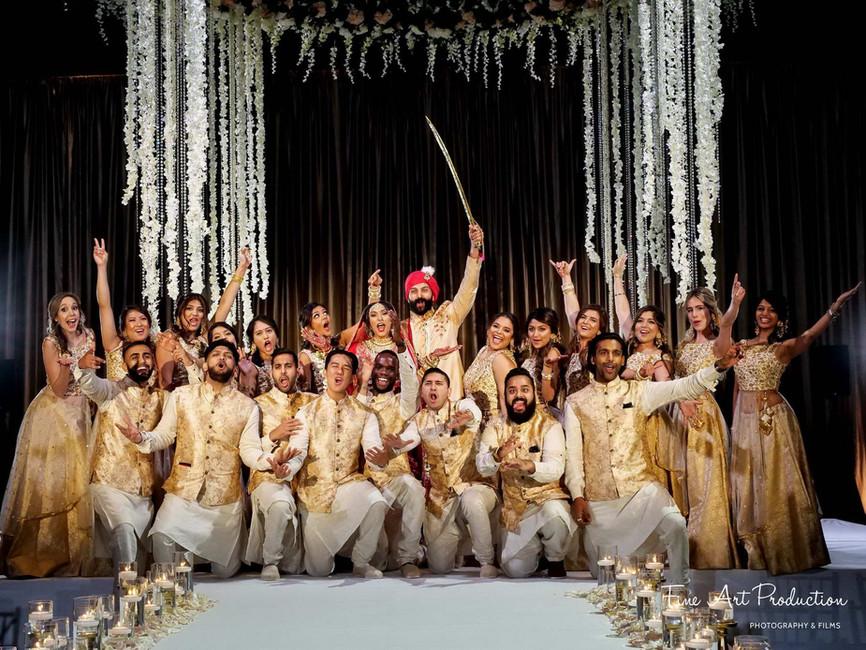 hilton-orlando-indian-wedding-bridal-party