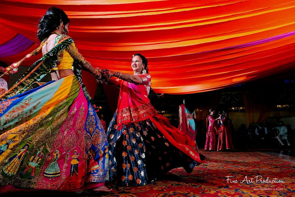 wedding garba theme