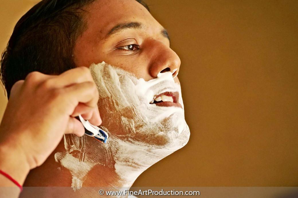 grooming-shaving-on-wedding-day